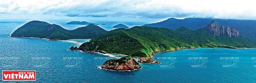 组图:简青山摄影师的越南海洋岛屿鸟瞰图 hinh anh 7