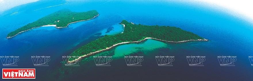 组图:简青山摄影师的越南海洋岛屿鸟瞰图 hinh anh 8