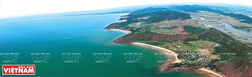 组图:简青山摄影师的越南海洋岛屿鸟瞰图 hinh anh 11