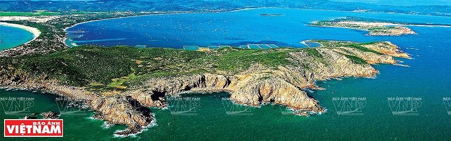 组图:简青山摄影师的越南海洋岛屿鸟瞰图 hinh anh 14