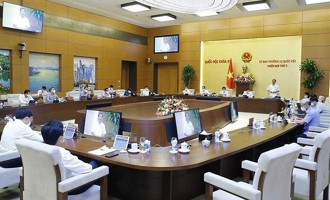 国会常务委员会第三次会议:注重规划编制和审批工作质量监管 hinh anh 1