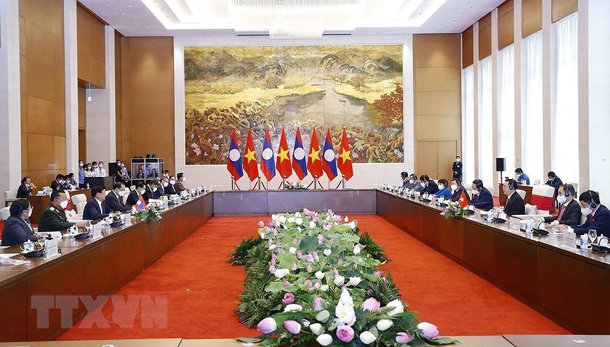 Nurturing Vietnam-Laos special relationship hinh anh 11
