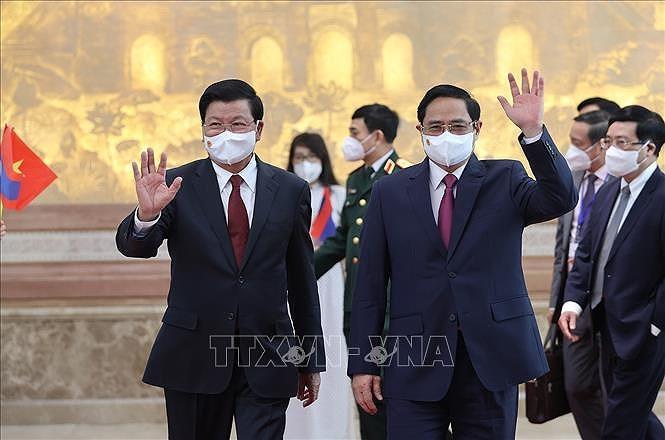 Nurturing Vietnam-Laos special relationship hinh anh 12