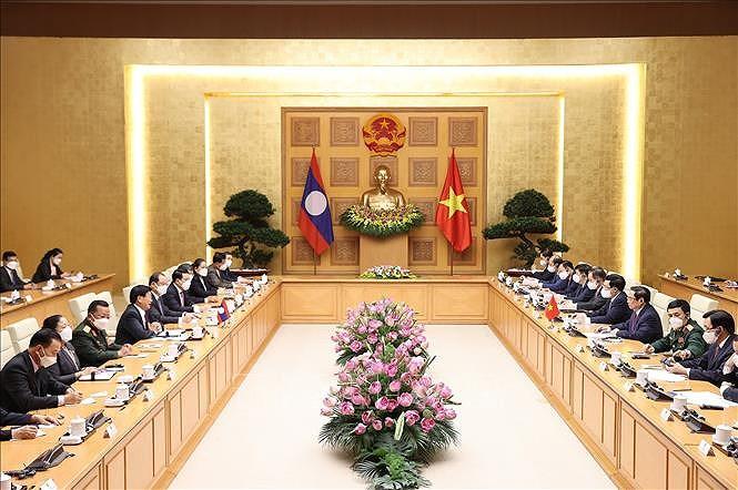 Nurturing Vietnam-Laos special relationship hinh anh 13