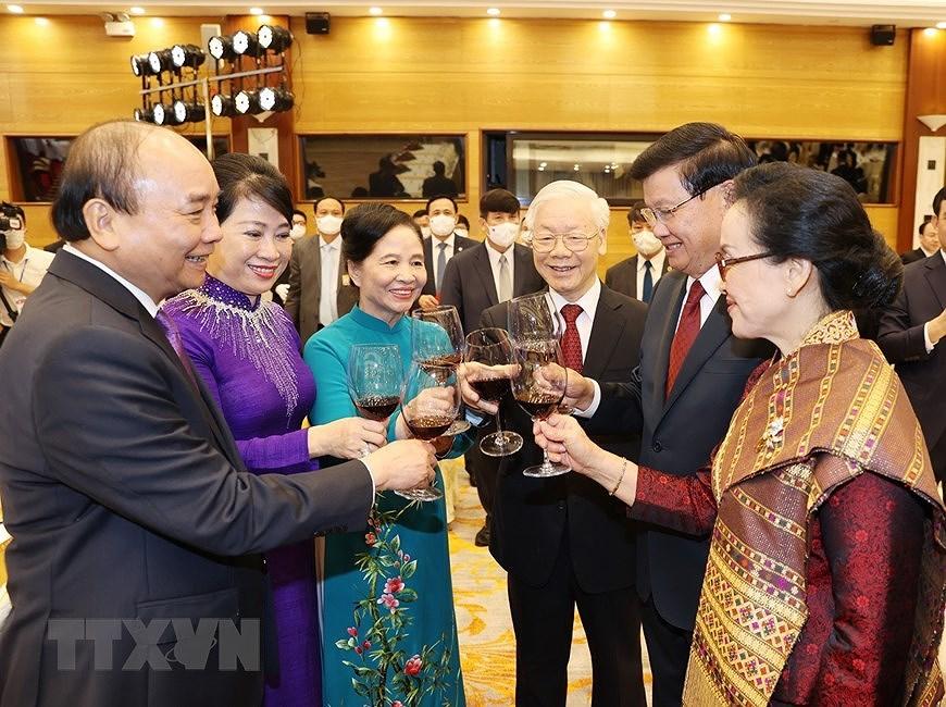 Nurturing Vietnam-Laos special relationship hinh anh 14