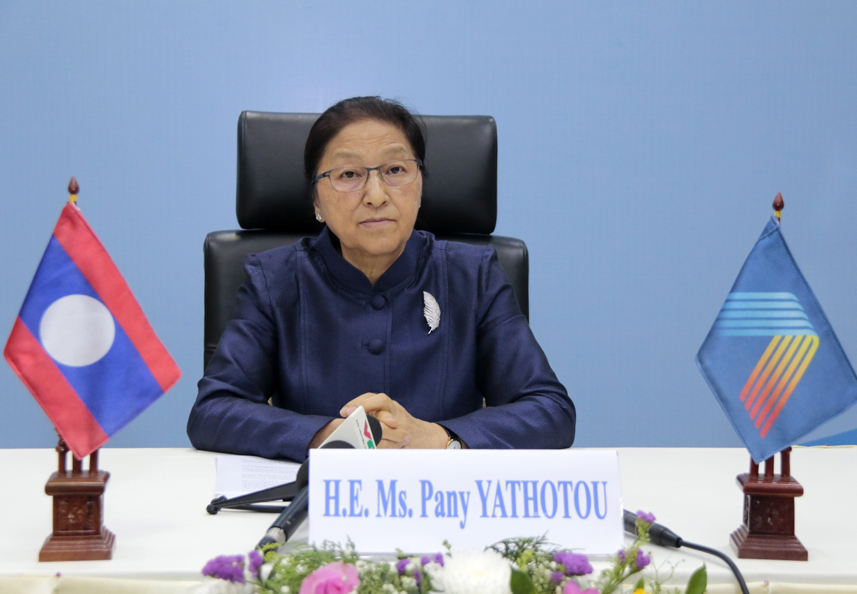 AIPA-41: Top Lao legislator praises Vietnam's high sense of responsibility hinh anh 1
