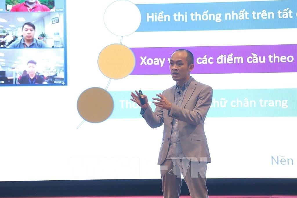 Vietnamese-developed online meeting platform debuts hinh anh 1