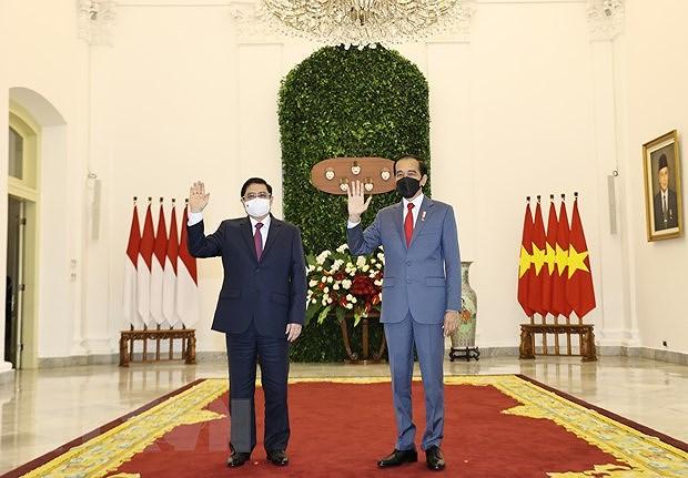 Indonesian President hosts Vietnamese PM in Bogor hinh anh 1
