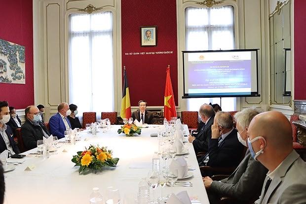 Belgian enterprises eye business expansion in Vietnam hinh anh 1