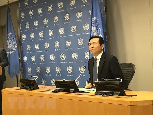 Ambassador reviews Vietnam's month-long UNSC Presidency hinh anh 2