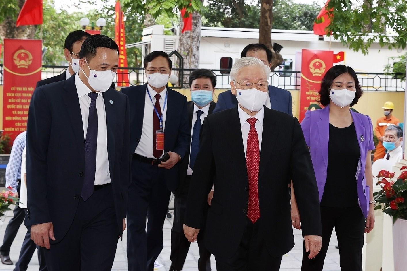 Japanese media spotlight Vietnamese NA election hinh anh 1