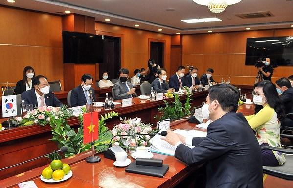 Vietnam, RoK seek to promote trade, industry partnership hinh anh 1