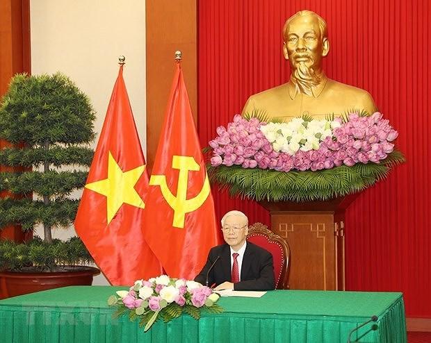 Vietnam treasures ties with Sri Lanka: Party chief hinh anh 2