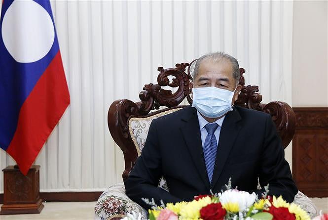 Lao Deputy PM: Laos treasures ties with Vietnam hinh anh 1