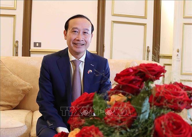 Top legislator's tour to Europe, Belgium create new momentum for bilateral ties: diplomat hinh anh 2