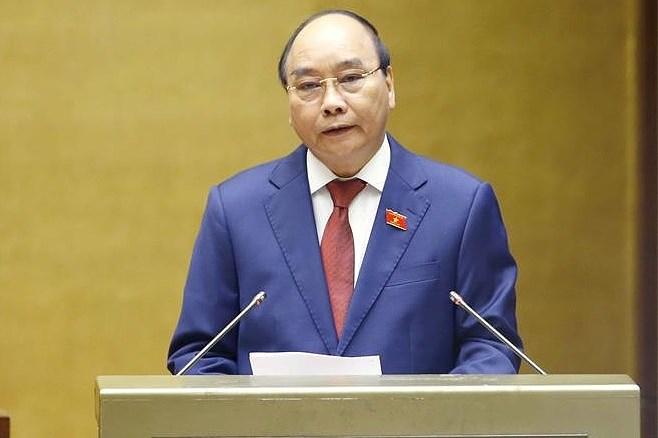 Le president vietnamien Nguyen Xuan Phuc prete serment hinh anh 1
