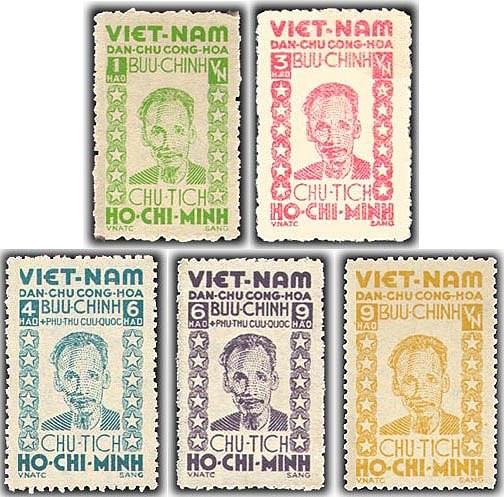 Collection de timbres sur le President Ho Chi Minh hinh anh 13