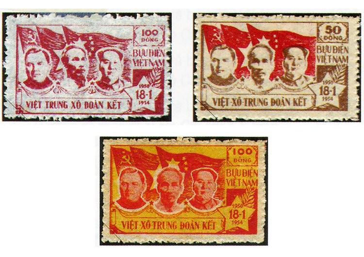 Collection de timbres sur le President Ho Chi Minh hinh anh 2