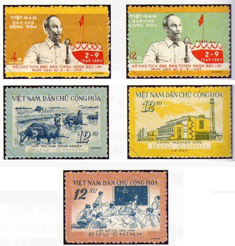 Collection de timbres sur le President Ho Chi Minh hinh anh 4