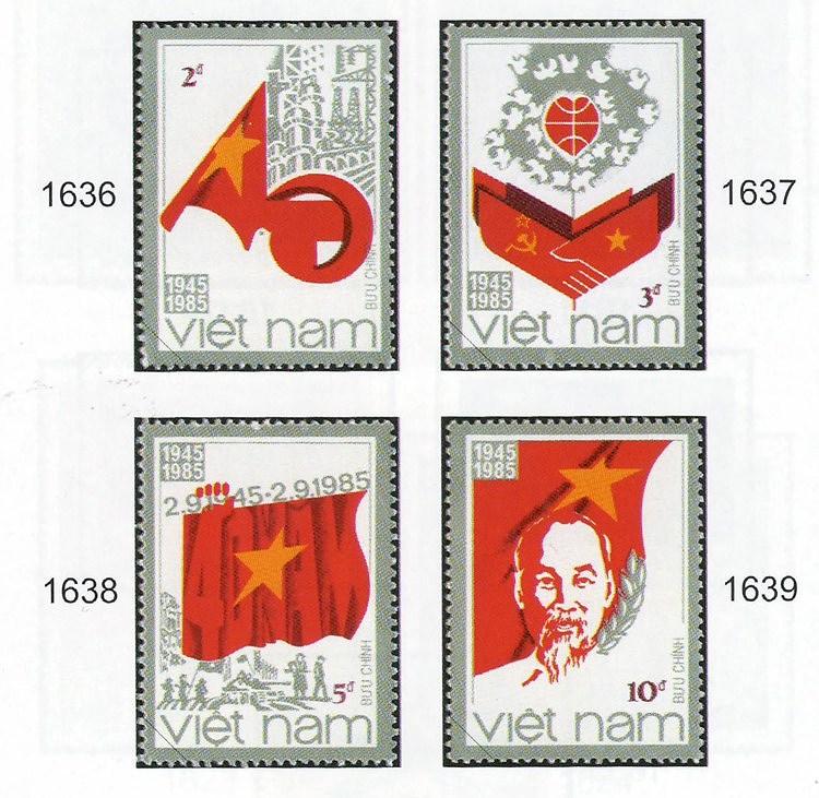 Collection de timbres sur le President Ho Chi Minh hinh anh 6