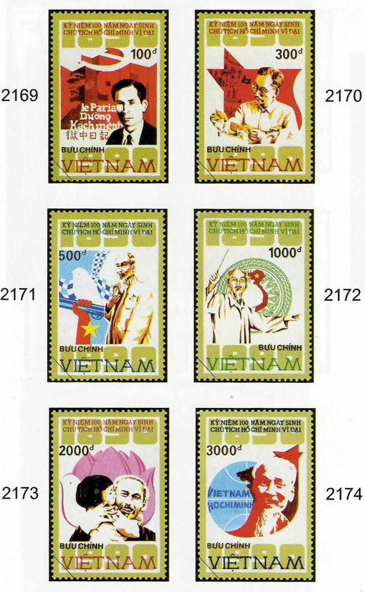 Collection de timbres sur le President Ho Chi Minh hinh anh 7