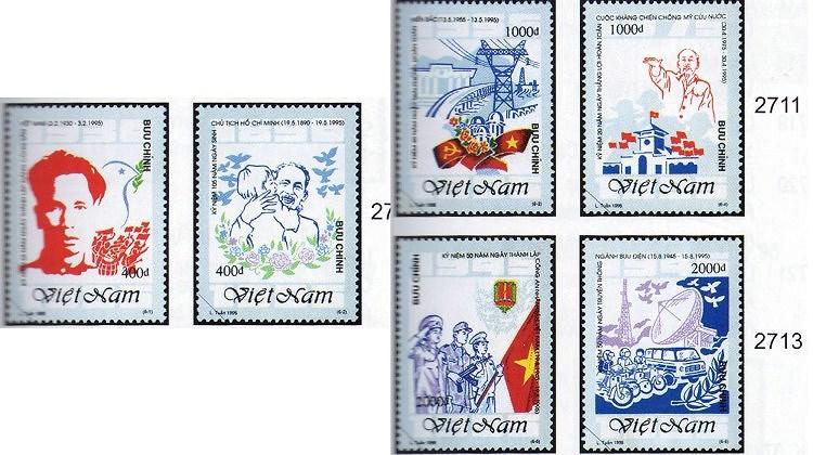 Collection de timbres sur le President Ho Chi Minh hinh anh 8