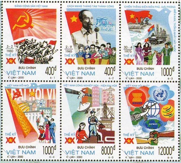 Collection de timbres sur le President Ho Chi Minh hinh anh 9