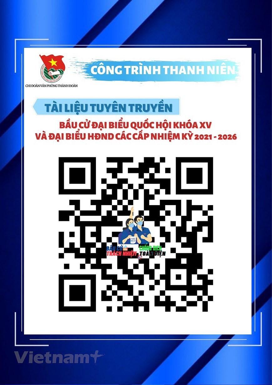 Les jeunes de Hanoi appliquent les TI au service des elections legislatives hinh anh 4