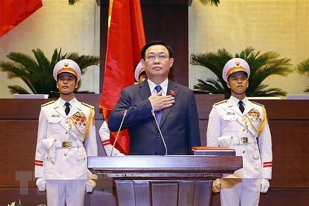 Felicitations de Cuba au president de l'AN Vuong Dinh Hue hinh anh 2