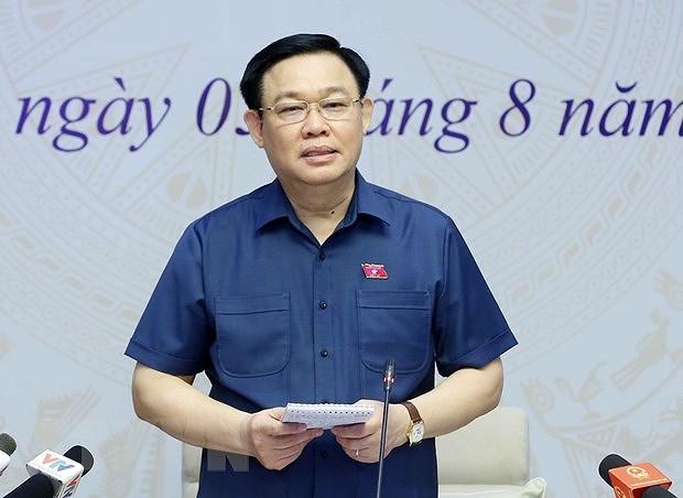 Le president de l'Assemblee nationale travaille avec des electeurs de Hai Phong hinh anh 1